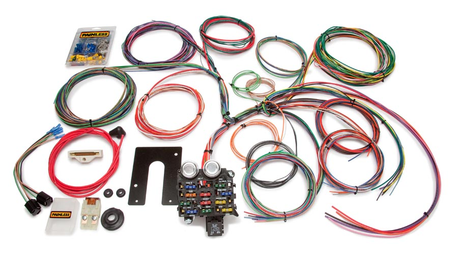 Mustang Wiring Harness Diagram In Addition Cj7 Painless Wiring