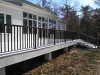 Contemporary Deck Railings and Step Rails in Williamsburg ...