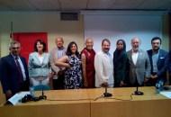 Les différents orateurs internationaux.