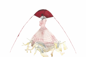 McQueen's sketch for Eonnagata