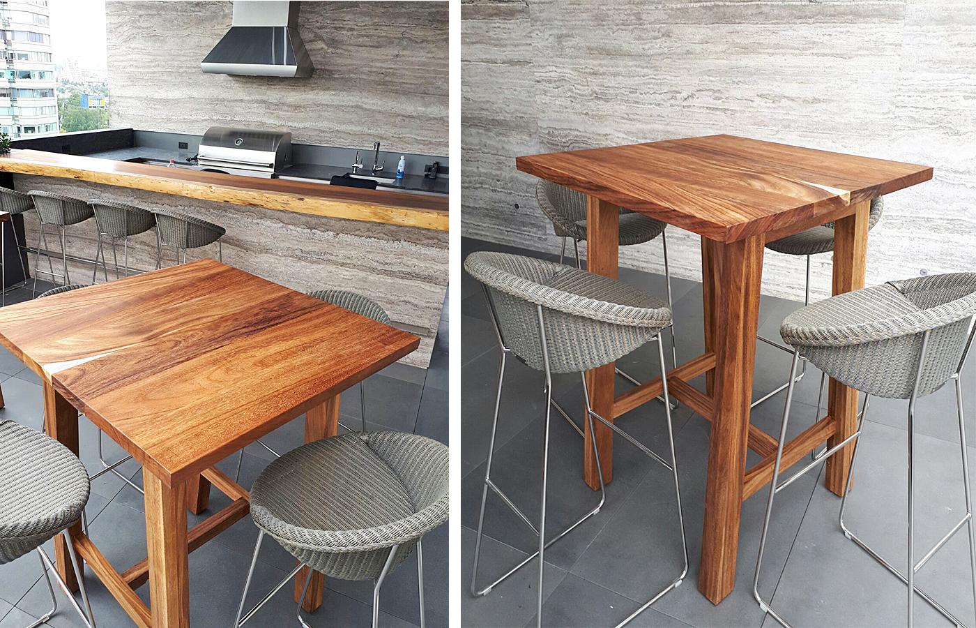 Modern Wooden Bar Tables