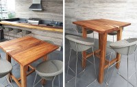 Modern Wooden Bar Tables