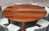 Parota Wood Tables | Custom Modern Design | Made in Mexico