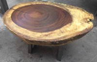 Parota Wood Coffee Tables | Custom | Made in Mexico