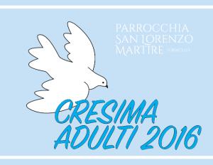 manifesto cresima adulti 2016