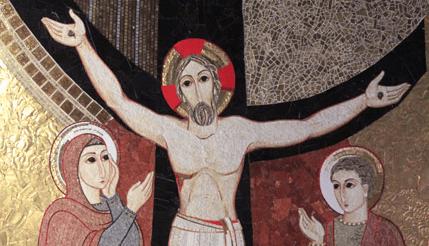 cristo crucificado rupnik
