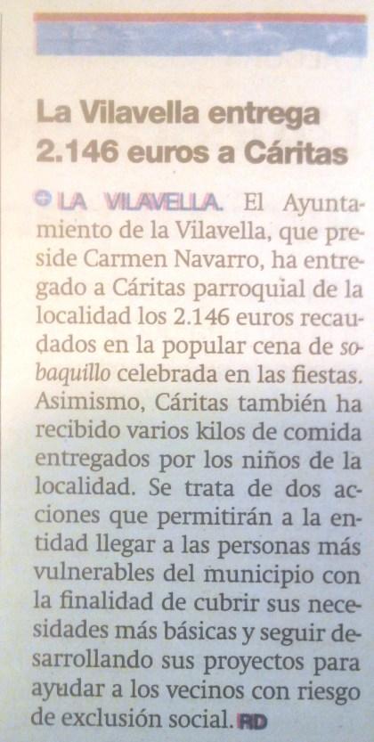 RECORTE DE PRENSA 29/09/2015