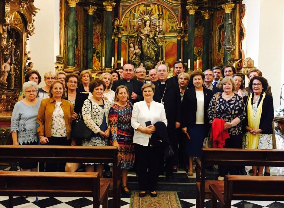 Audiencia con el Arzobispo
