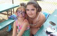 Children enjoy face painting at Hoffman Beach