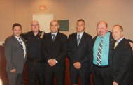 Two new police officers sworn in today