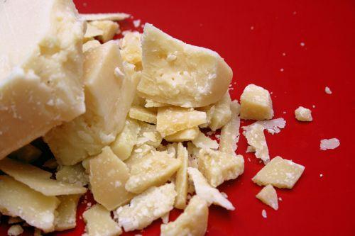 Parmigiano-Reggiano cheese for Lasagne Verde aka Spinach Lasagna
