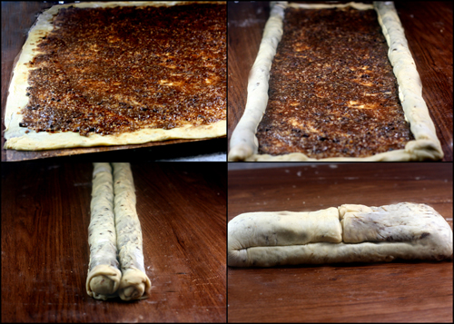 Pumpkin Cheese Pie Povitica, and Chocolate Walnut Povitica