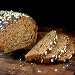 Oatmeal Walnut Bread with Poppy Seeds and the Best Egg Salad You Will Ever Eat!