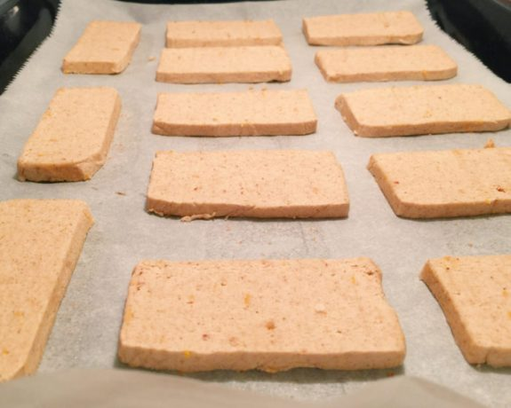 ... and Pastries – gluten free orange + spiced almond shortbread