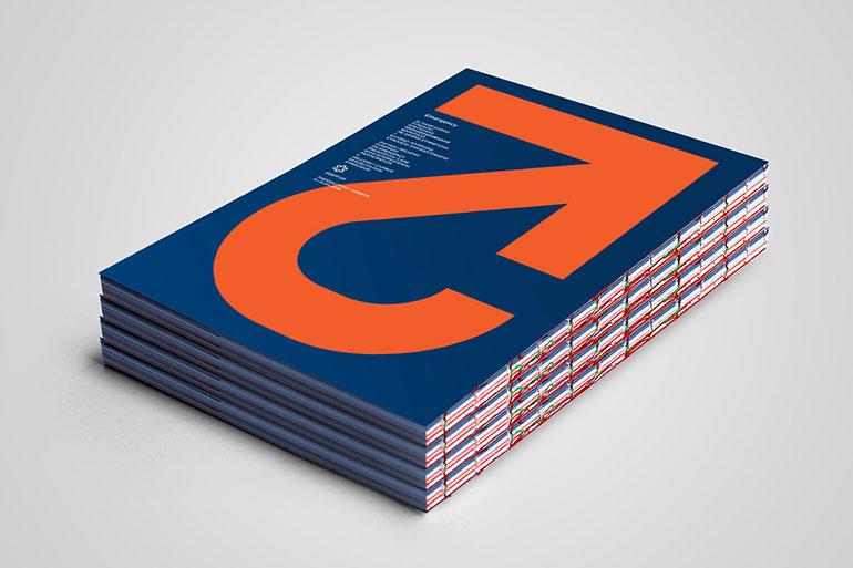 Bold graphic design by Dimitris Papazoglou Partfaliaz