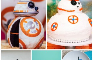 How to Make a BB-8 Cake