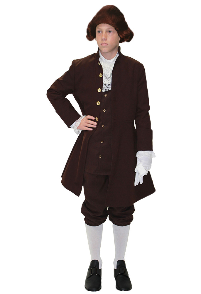 Colonial Costumes For Men Women Kids Parties Costume