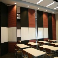 Floor to Ceiling Acoustic Room Dividers Flexible Wooden ...