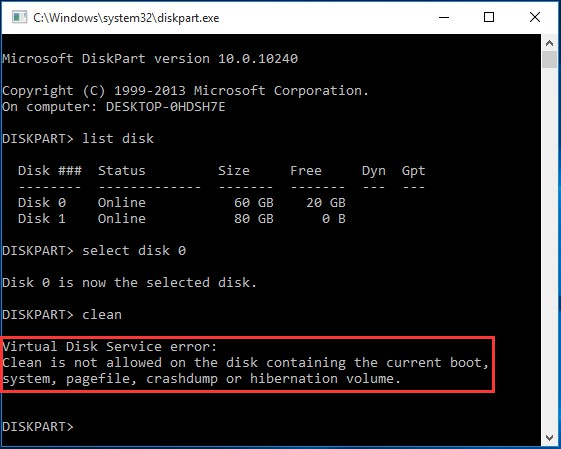 The Best Ways To Fix Diskpart Virtual Disk Service Errors