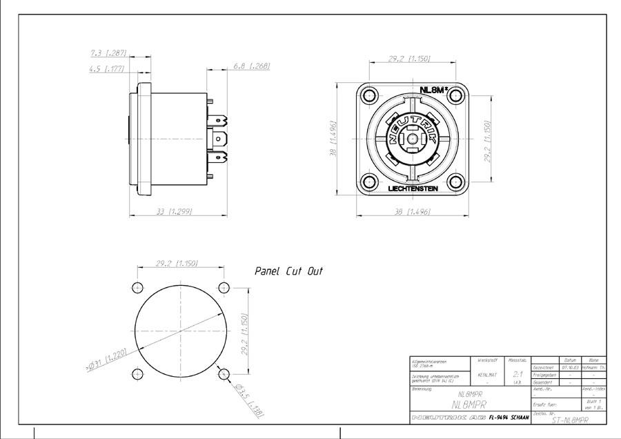 nl4 speakon wiring diagram