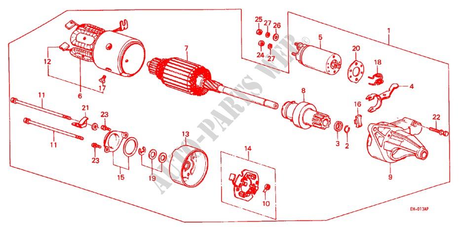Hitachi Starter Motor Wiring Diagram - Schematics Diagram