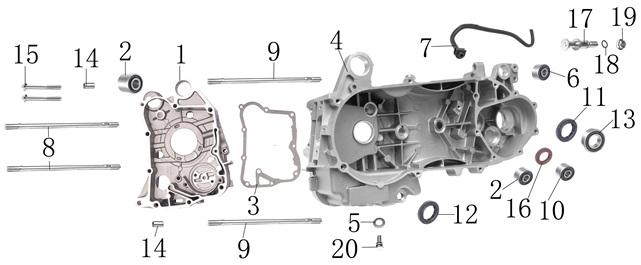 150 cf moto 150cc scooter wiring diagram