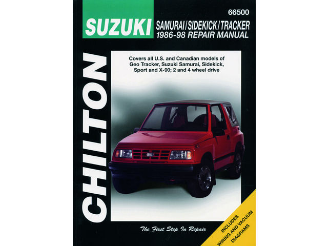 Fits 1996-1998 Suzuki X90 Paper Repair Manual Chilton 67997DS 1997