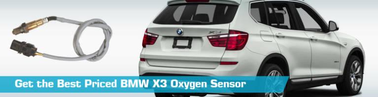 BMW X3 Oxygen Sensor - O2 Sensor - Bosch NGK Walker - 2004 2006 2005