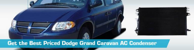 Dodge Grand Caravan AC Condenser - Air Conditioning - Action Crash