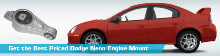 Dodge Neon Engine Mount - Motor Mounts - Replacement Westar Anchor