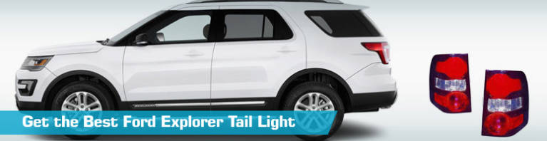 Ford Explorer Tail Lights - Ford Explorer Tail Light Replacement