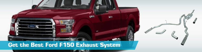 Ford F150 Exhaust System - Cat Back Exhaust - Flowmaster MBRP Borla