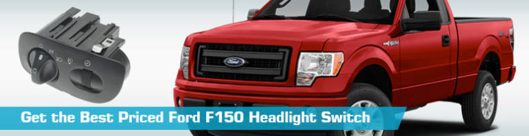 Ford F150 Headlight Switch - Head Light Switch - Replacement