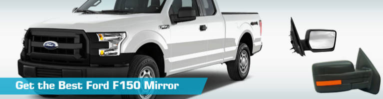 Ford F150 Mirror - Low Price Replacement - PartsGeek