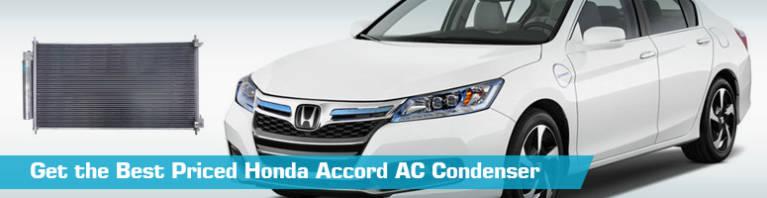Honda Accord AC Condenser - Air Conditioning - Action Crash UAC TYC