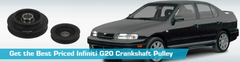 Infiniti G20 Crankshaft Pulley - Crankshaft Pulleys - Original