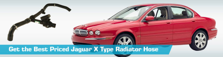 Jaguar X Type Radiator Hose - Radiator Upper and Lower Hoses