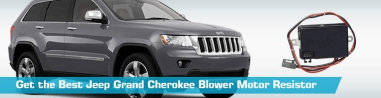 Jeep Grand Cherokee Blower Motor Resistor - Replacement Blower Motor