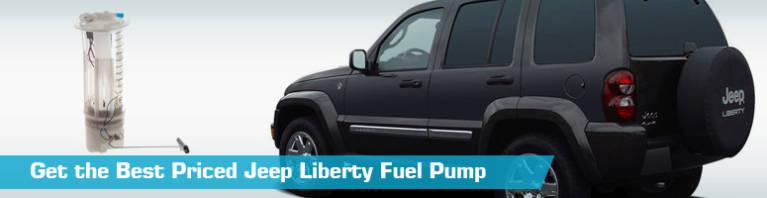 Jeep Liberty Fuel Pump - Gas Pumps - Airtex Autobest Delphi Action