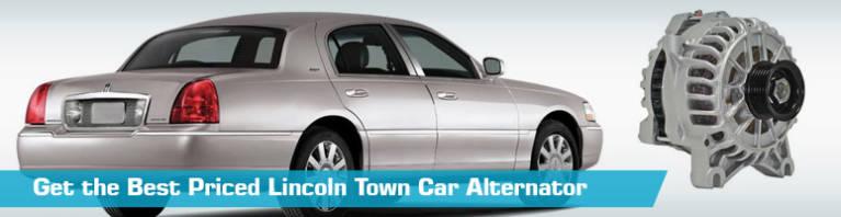 Lincoln Town Car Alternator - Car Alternators - Replacement Pure