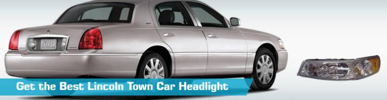 Lincoln Town Car Headlight - Headlights - Action Crash Dorman TYC