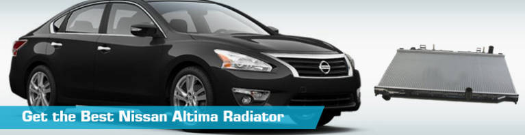 Nissan Altima Radiator - Auto Radiators - Action Crash TYC Denso