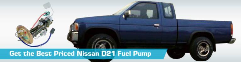 Nissan D21 Fuel Pump - Gas Pumps - Replacement Autobest Genuine