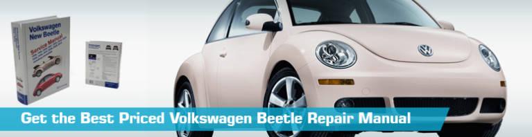 VW Volkswagen Beetle Repair Manual - Service Manual - Bentley