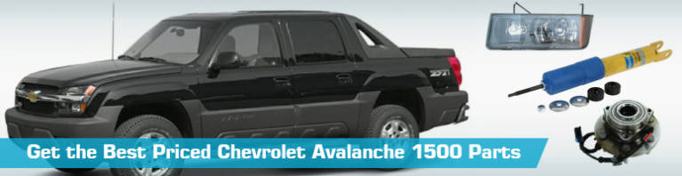 Chevrolet Avalanche 1500 Parts - PartsGeek