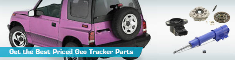 Geo Tracker Parts - PartsGeek