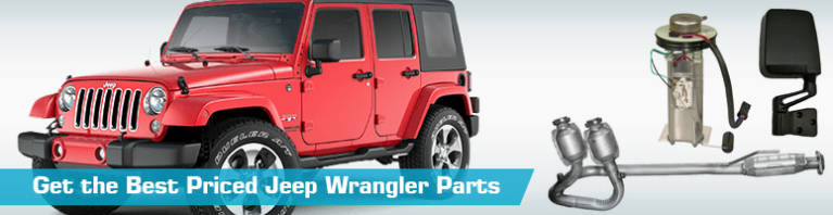 Jeep Wrangler Parts - PartsGeek