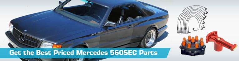 Mercedes 560SEC Parts - PartsGeek