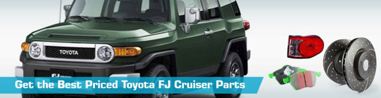 Toyota FJ Cruiser Parts - PartsGeek