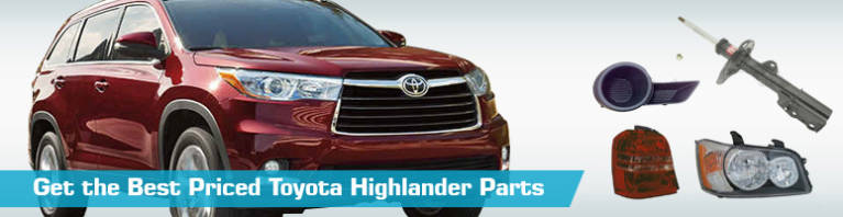 Toyota Highlander Parts - PartsGeek
